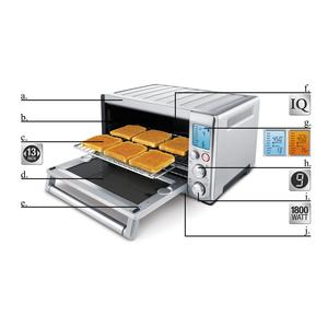Breville BOV800XL Convection Oven operation diagram