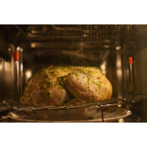 Cooking process using Cuisinart convection cum microwave oven