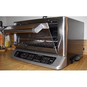Cuisinart best-selling toaster oven in operation