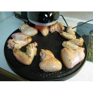 Make great chicken wing with Presto Pizzazz oven