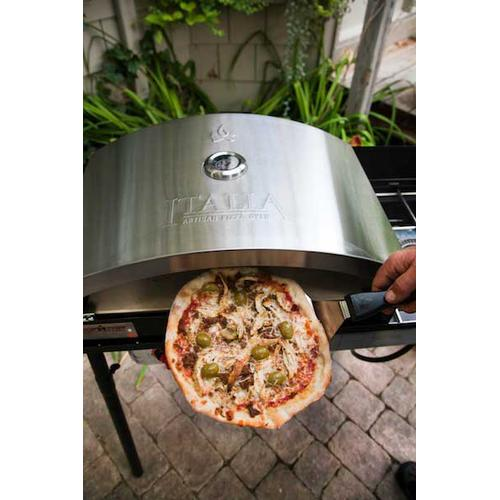 Pizza making with Camp Chef Italia artisan oven