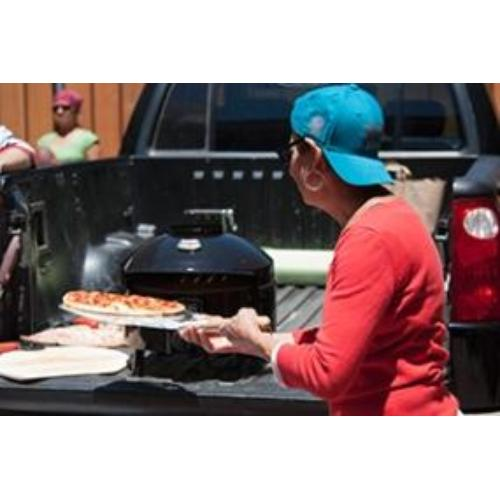 Pizzacraft pizzeria pronto pizza oven makes perfect addition to tailgate party