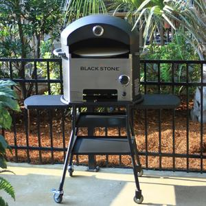 Popular outdoor oven with wheel