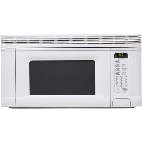 Sharp over-the-range microwave oven in white color