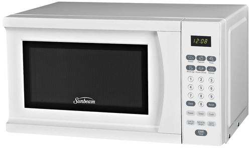 Sunbeam SGS90701W microwave oven in white color option