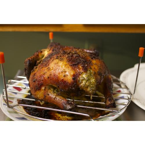 Tantalizing whole chicken cooked with Cuisinart CMW-200