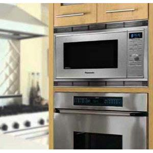 Wall installation of Panasonic countertop smart oven