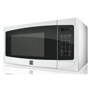 Close up view of Kenmore Countertop Microwave 73092