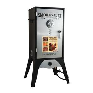 Image of Camp Chef Smoke Vault Propane Box HD Steel and Stainless Door Smoker