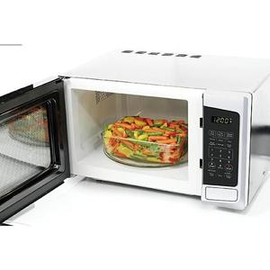 Inner compartment view of Kenmore 73092 microwave oven