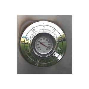 Temperature reading of Camp Chef smoke vault oven