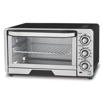 Close up image of most positively rated toaster oven