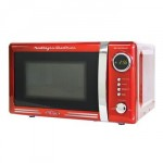 Highly popular microwave in retro-style design