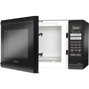 Inner comparment view of the top-rated microwave oven