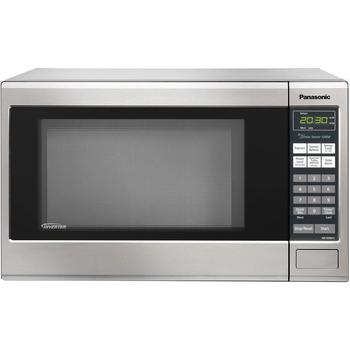 Top-selling microwave in silver finishing