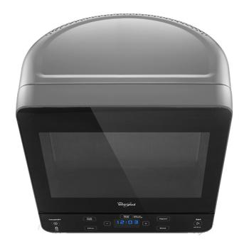View of the most space-efficient microwave oven